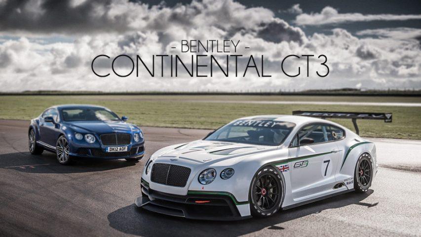 Bentley Continental GT3 Racer