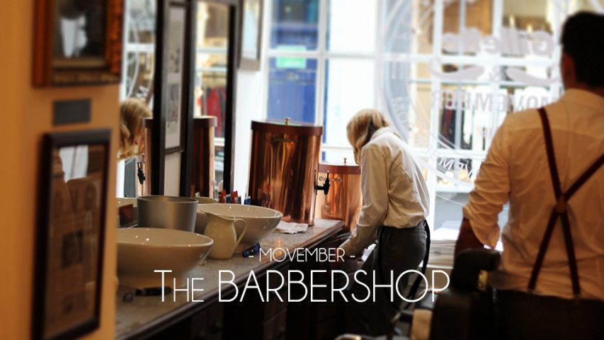 Movember: The Barbershop