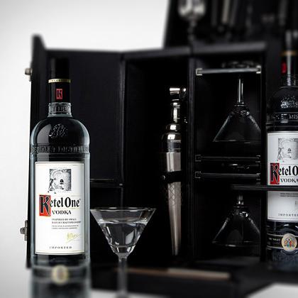 Tumi + Ketel One Vodka: Limited Edition Mixology Set