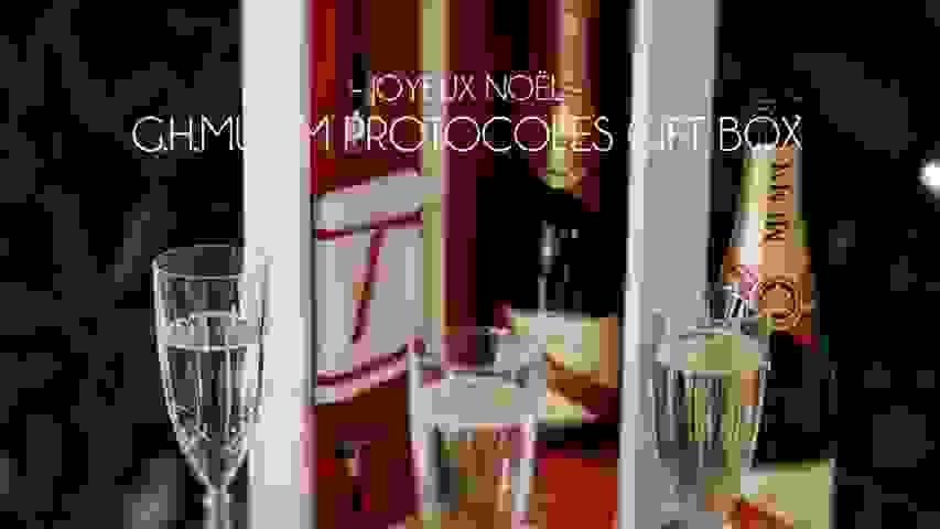 Joyeux Noël: G.H.MUMM Protocoles Gift Box