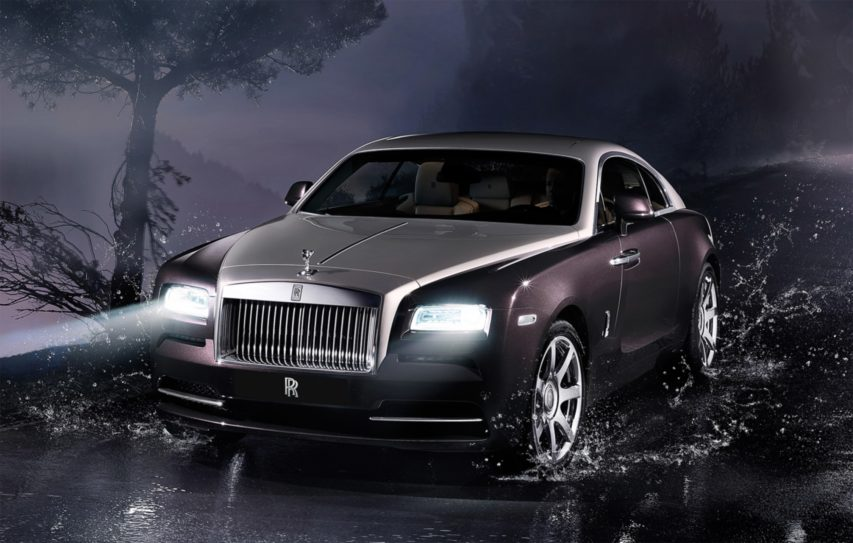 Rolls-Royce Motor Cars present WRAITH