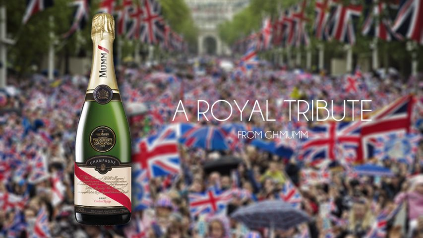 G.H.MUMM Cordon Rouge Magnum: A Tribute to Royalty
