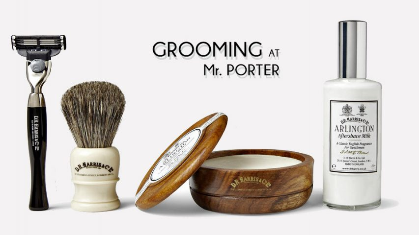 Grooming at Mr. Porter