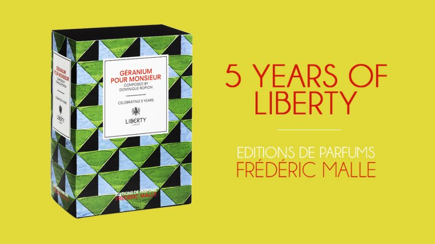 Frederic Malle: 5 Years of Liberty