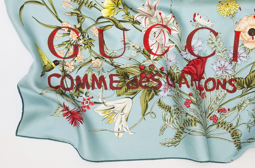 Gucci x Comme des Garcons Scarves