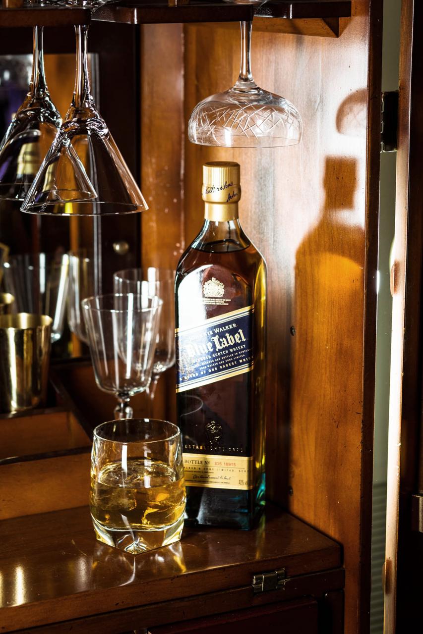 Drink: Johnnie Walker Blue Label at Galvin at Windows