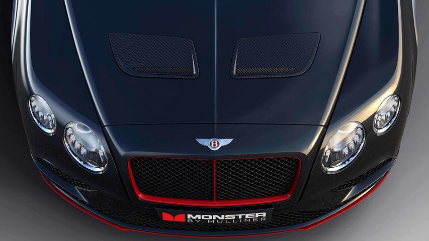 """MONSTER BY MULLINER"" Bentley Continental GT V8 S"