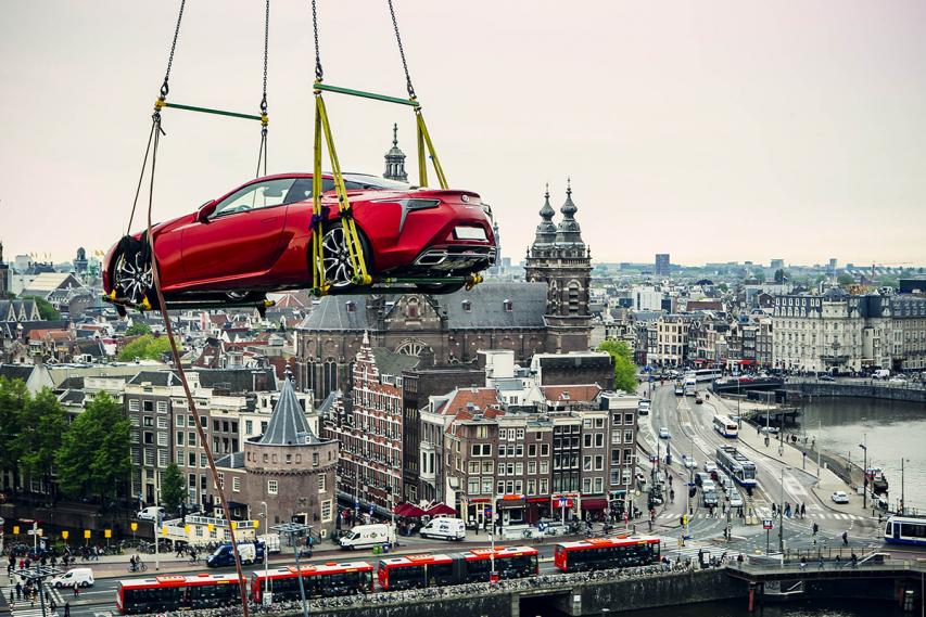 Creating Amazing: Lexus LC 500