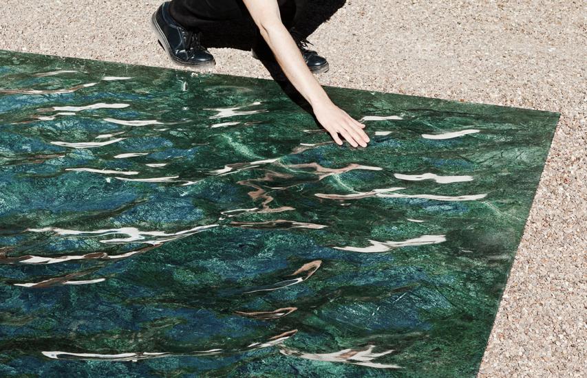 Petit Loire: Liquid Marble by Mathieu Lehanneur