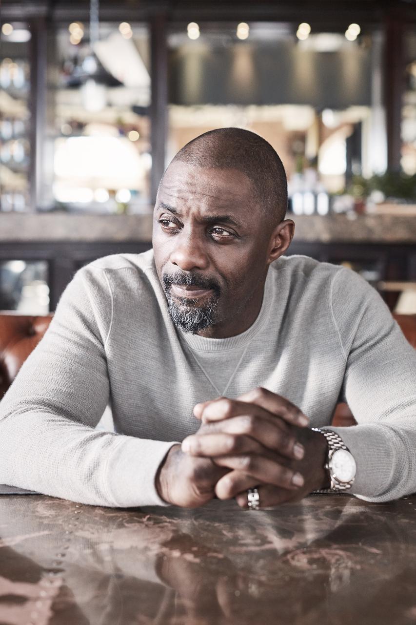 Idris Elba + Purdey's present #THRIVEON