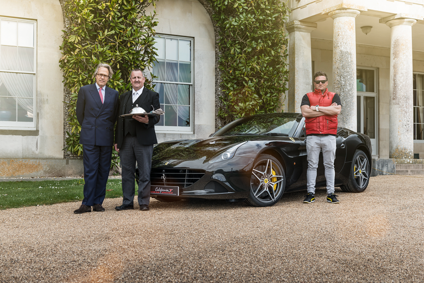 Full Throttle Breakfast by Ferrari California T x Lord March