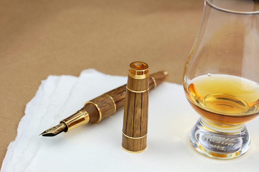 The Cognac Pen by Montegrappa