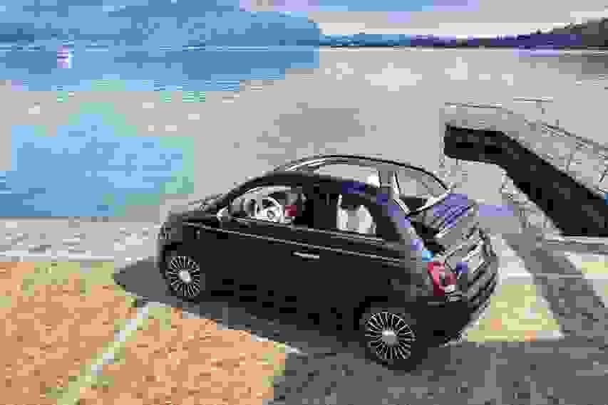 Fiat present the 500 Riva