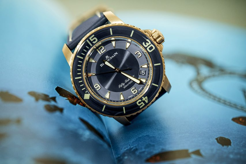 BLANCPAIN | Fifty Fathoms Ceramic Blue
