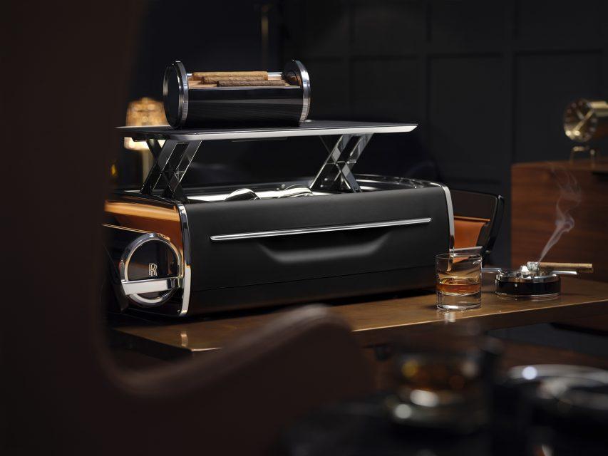 Rolls-Royce Cellarette — Where Cigars & Whisky meet